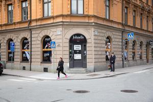 Lokalerna på Jovisgatan står tomma sedan Johnells flyttade till Kringlan.