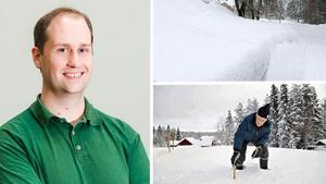Ian Engblom, meteorolog, Foreca. Bild: Foreca och arkiv.