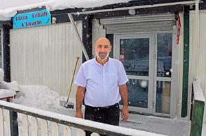 Bayram Badikanli tar initiativet att öppna Tacobar i Sandviken. Foto: Roger Wallenius/arkivbild