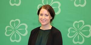 26-åriga Emma Wiesner är ett hårsmån från att bli inkryssad i EU-parlamentet. Hon är tidigare västeråsare och kandidat i EU-valet 2019 för Centerpartiet. Foto: Isak Kupersmidt/Centerpartiet