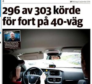 Borlänge Tidning, juni 2017.