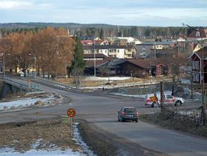 Nu finns förslag att bygga en rondell vid Hvilan i Rättvik, där fem vägar går åt olika håll. Foto: Per Malmberg/DT