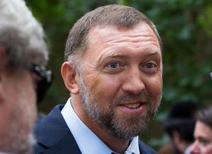 Oleg Deripaska, Rusals ägare.