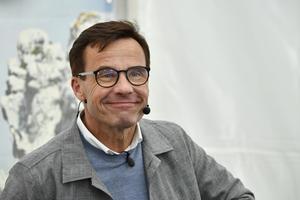 Ulf Kristersson (M). Foto: Vilhelm Stokstad/TT
