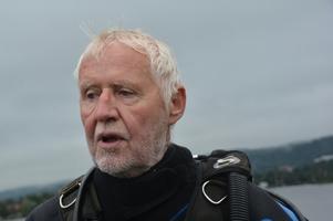 Kjell Andersson är känd i dykarkretsar.