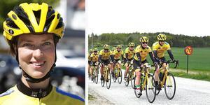 Lina Andersson cyklar till Paris för att samla in pengar till Barncancerfonden.