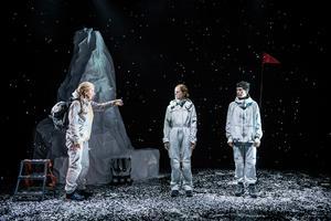 Polarfararna av Camilla Blomqvist. Foto: Sören Vilks/Riksteatern