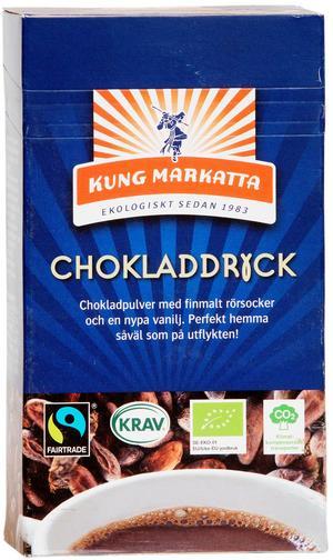 Kung Markatta Chokladdryck.