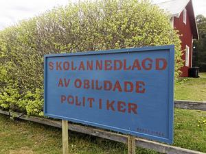 Singö skola lades ner 2015 och blev själva symbolen för en laddad konflikt mellan centrum och periferi i Norrtälje kommun.
