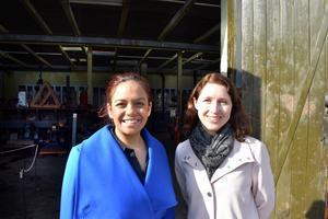 Rehana Scott och Karin Avellan hoppas att Getting ready for adulthood blir ett stående projekt i respektive skola.