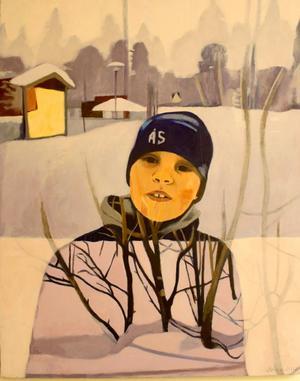 Maria Olsson fortsätter med sina kombinationer av olika bilder.