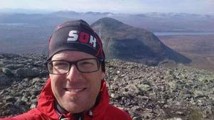Johan Agås på SOK jobbar för att Sundsvall ska få arrangörskapet av O-ringen.