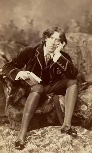 Oscar Wilde var inte bara radikal till det yttre, utan även politiskt progressiv. Foto: Napoleon Sarony