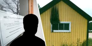 Den misstänkte mannen åtalas för två fall av skadegörelse samt för brott mot knivlagen.