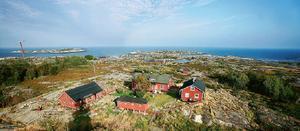 Huvudön Storön på ögruppen Svenska Högarna hade många soltimmar sommaren 2019. Foto: Leif Gustavsson