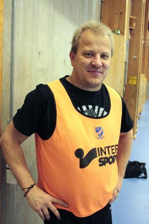 Ronny Gustavsson, ny tränare för A-laget