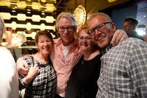 Ulf Granqvist, Ulla Jansson, Christer Eriksson och Solveig Eriksson hade åkt från Östersund och Söderhamn.