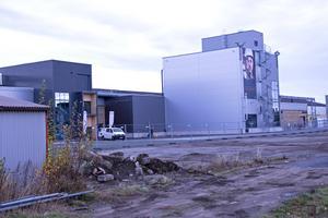 Här står den nya fabriken för titanpulver, en satsning på 200 miljoner kronor.