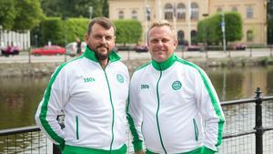 VSK:s nya tränarduo Thomas Gabrielsson och