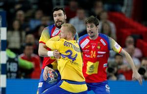 Jim Gottfridsson och hans Sverige körde fast när Spanien stod för motståndet i finalen.