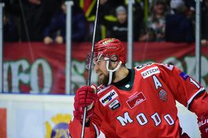Henrik Björklund gjorde ett efterlängtat mål.