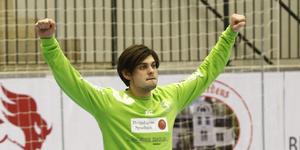 Målvakten Thomas Matic gjorde tre mål (!) i Lif Lindesbergs förlustmatch mot Skånela.