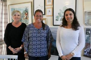 Camilla Widbark, Maria Johansson-Engdahl och Sunilla Reinholdsson blickar framåt och hoppas kunna hitta samarbeten med fler kommuner och företag angående missbruksvård.