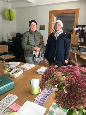 Birgitta Olsson och Maria Karlsson är stammisar när det gäller Korpens tipspromenader.