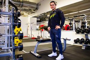 Fitnesstävlingen, som Mohsen Rahimi vann, hölls i början av december.
