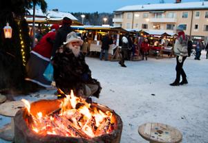 Ramsele har blivit känd för många och stora arrangemang, här Kajsa Kavat julmarknad. Nu ska arrangemangen utvecklas.
