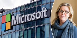 – Det var ett tydligt önskemål från kommunstyrelsen att Microsoft skulle ta hänsyn till den lokala arbetsmarknaden, säger kommunalrådet Åsa Wiklund Lång, S.