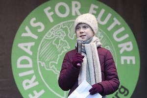 Lyssna på Greta Thunberg, tycker Skövdebon Sture Grönblad.