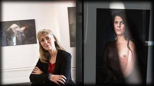 Eva Lie och Janna. Bilden är ett collage.