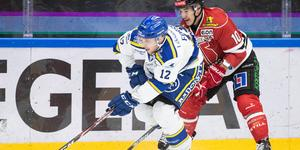 Fredrik Forsberg var tillbaka i Leksand efter sjukdom. Bild: Bildbyrån