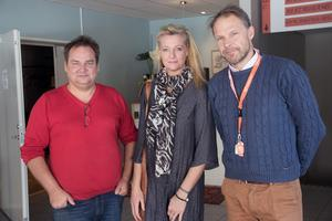 I våras, när hotellköpet just var i hamn, hade Björn Jonsson, Malin Arefjärd Eklund och Thomas Eklund stora planer för Järnvägshotellet.