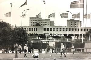 Vid Arosvallen 1976.
