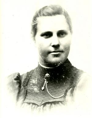Frida Andersson i ungdomen.