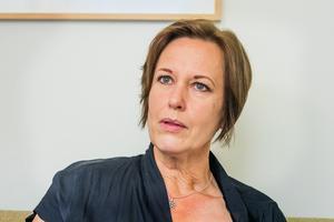 Karin Sundin,  (S), ordförande hälso- och sjukvårdsnämnden i regionen.