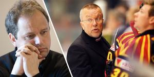 Micke Sundlöv i maj 2008 och Leif Boork i mars samma år. Bilden är ett montage.