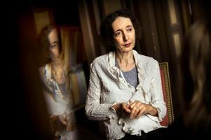 Den amerikanska författaren Joyce Carol Oates är Nobelpristippad sedan mycket länge – men skriver enligt vissa för mycket och för ojämnt för att få priset.Foto: Dan Hansson / SvD / TT