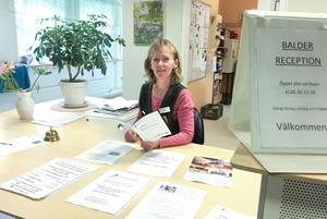 Linda Sandström, som är receptionist på Balder, har kommit i kontakt med många personer som tror den gamla kön till bostäderna i Balder västra finns kvar. Så är det inte.