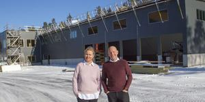 Syskonen Katarina Helling och Jonas Ahlborg  äger Jobmeal i Gävle.
