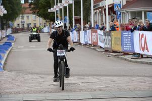 Jakob Johansson från Västerås fullföljer Cykelvasan 45