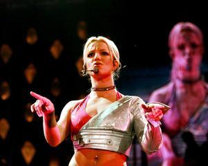 Britney Spears år 2000 i London efter releasen av
