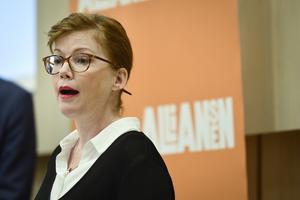 Anna Starbrink (L), sjukvårdslandstingsråd. Foto: Stina Stjernkvist/TT