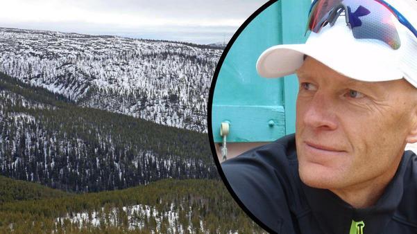 Kollage pressbild med Mats Svensson Örndalen resort.Foto: Bengt-Göran Carlsson.