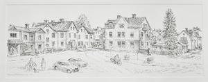 En av Connie Dellkrantz bilder från Bollnäs förr i tiden. Foto: Arkiv