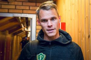 Erik Moberg, mittback i Jönköpings Södra.