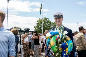Philip Sjöberg gick ut Naturvetenskapliga programmet och också en av dem som vann studentkampen.