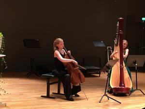 Kristina Winiarski och Aisté Baliunyté imponerade i alla sina framträdanden.